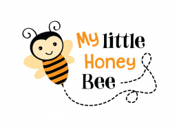 Free SVG cut file - My Little Honey Bee