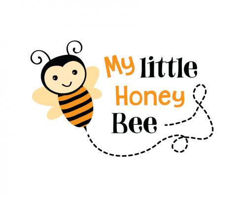Free SVG cut file - My Little Honey Bee
