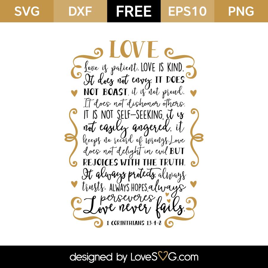 Corinthians Love Quotes 1 Corinthians 1348  Lovesvg