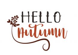 Free SVG cut files - Hello Autumn