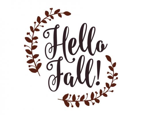 Free SVG Cut Files   Hello Fall