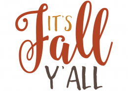 Free SVG cut files - It's Fall Y'all