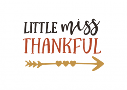 Free SVG cut files - Little Miss Thankful