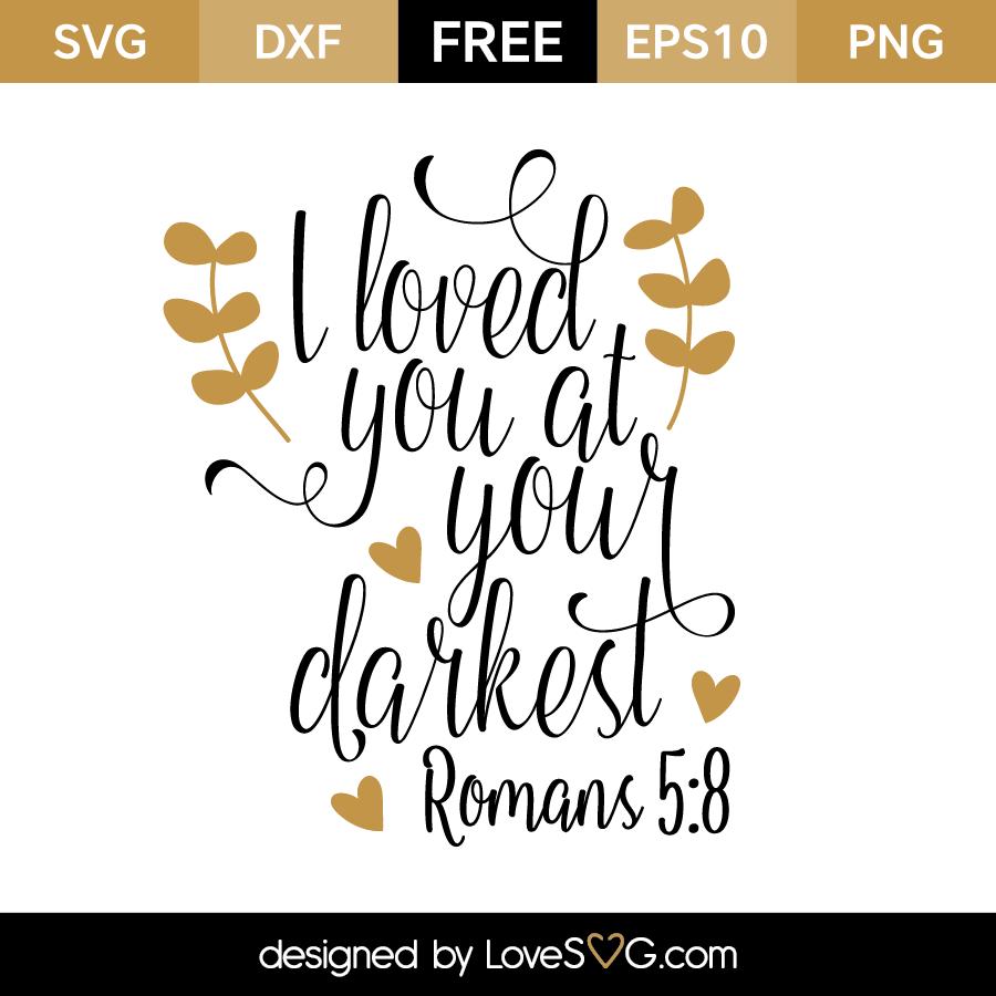 Romans 5:8 | Lovesvg com