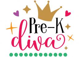Free SVG files - Pre-K Diva