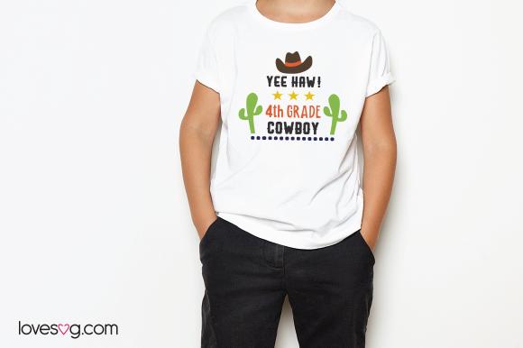 T-Shirt - Yee Haw Cowboy