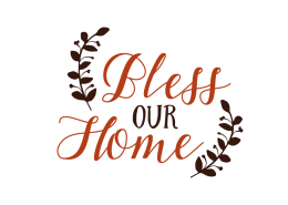 Free SVG cut files - Bless your Home