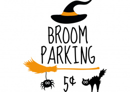 Free SVG cut file - Broom Parking