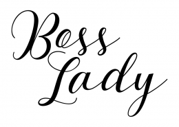 Free SVG cut file - Boss Lady