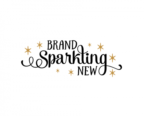 Free SVG cut file - Brand Sparkling New