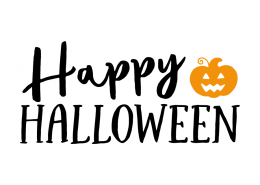 Free SVG cut file - Happy Halloween