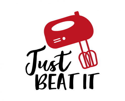 Free SVG cut file - Just beat it