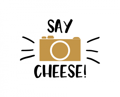 Free SVG cut file - Say Cheese