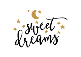 Free SVG cut file - Sweet Dreams