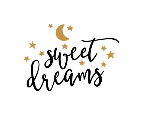 Free SVG cut file - Sweet Dreams