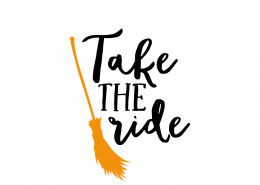 Free SVG cut file - Take the ride