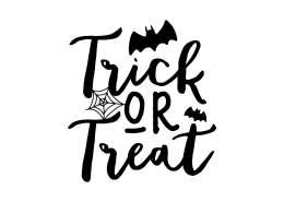 Free SVG cut file - Trick or Treat