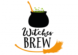 Free SVG cut file - Witches Brew