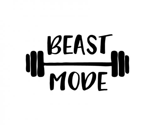 Free SVG cut files - Beast Mode