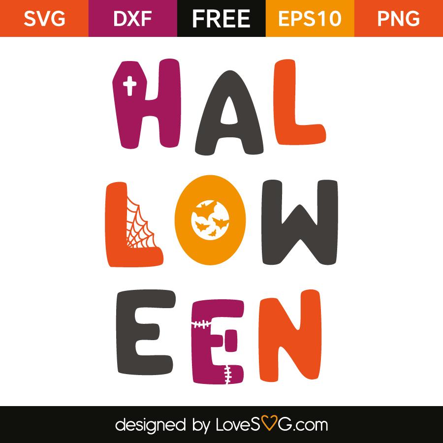 Free SVG cut file - Halloween