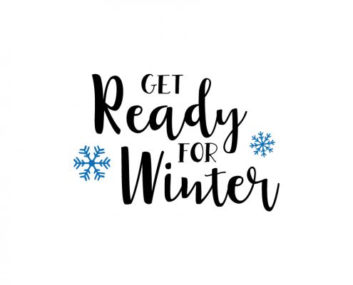 Free SVG cut file - Get Ready for Winter