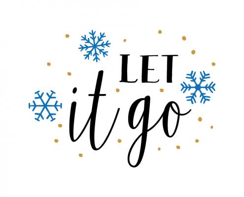 Free SVG cut file - Let it go