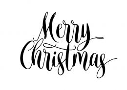 Free svg files - Merry Christmas