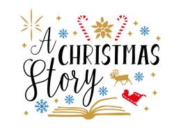 Free SVG cut files - A Christmas Story