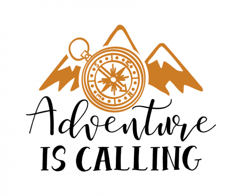 Free SVG cut file - Adventure is calling