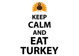 Free SVG cut files - Keep Calm and eat Turkey