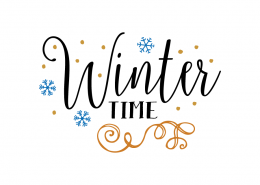 Free SVG cut files - Winter Time