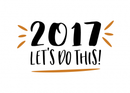 Free SVG cut file - 2017 Let's do this