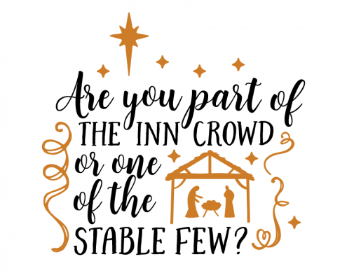 Free SVG cut file - Are you part of the inn crowd