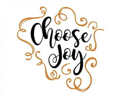 Free SVG cut file - Choose Joy