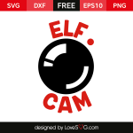 Free SVG cut file - Elf Cam