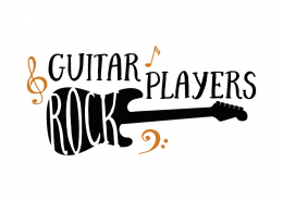 Free svg cut files - Guitar Players Rock