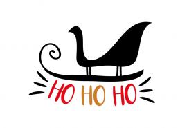 Free SVG cut file - Ho Ho Ho