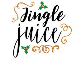 Free SVG cut file - Jingle Juice