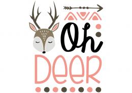 Free SVG cut file - Oh Deer