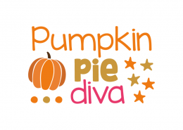 Free SVG cut file - Pumpkin Pie Diva