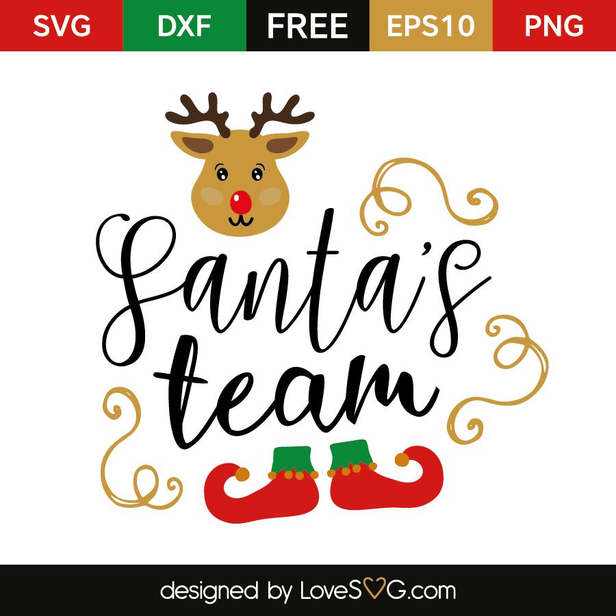 Download Santa's team | Lovesvg.com