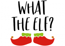 Free SVG cut file - What the Elf?