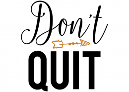Free svg cut files - Dont quit