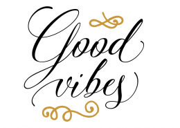 Free svg cut files - Good vibes