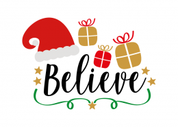 Free SVG cut file - Believe
