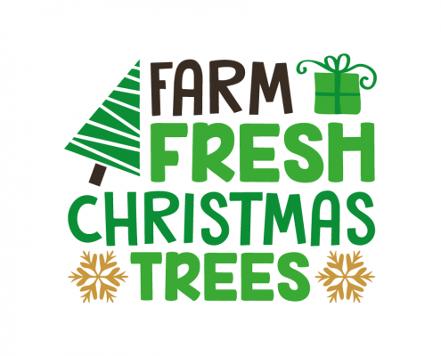 Free SVG cut file - Farm Fresh Christmas Trees