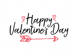 Free SVG cut file - Happy Valentine's Day