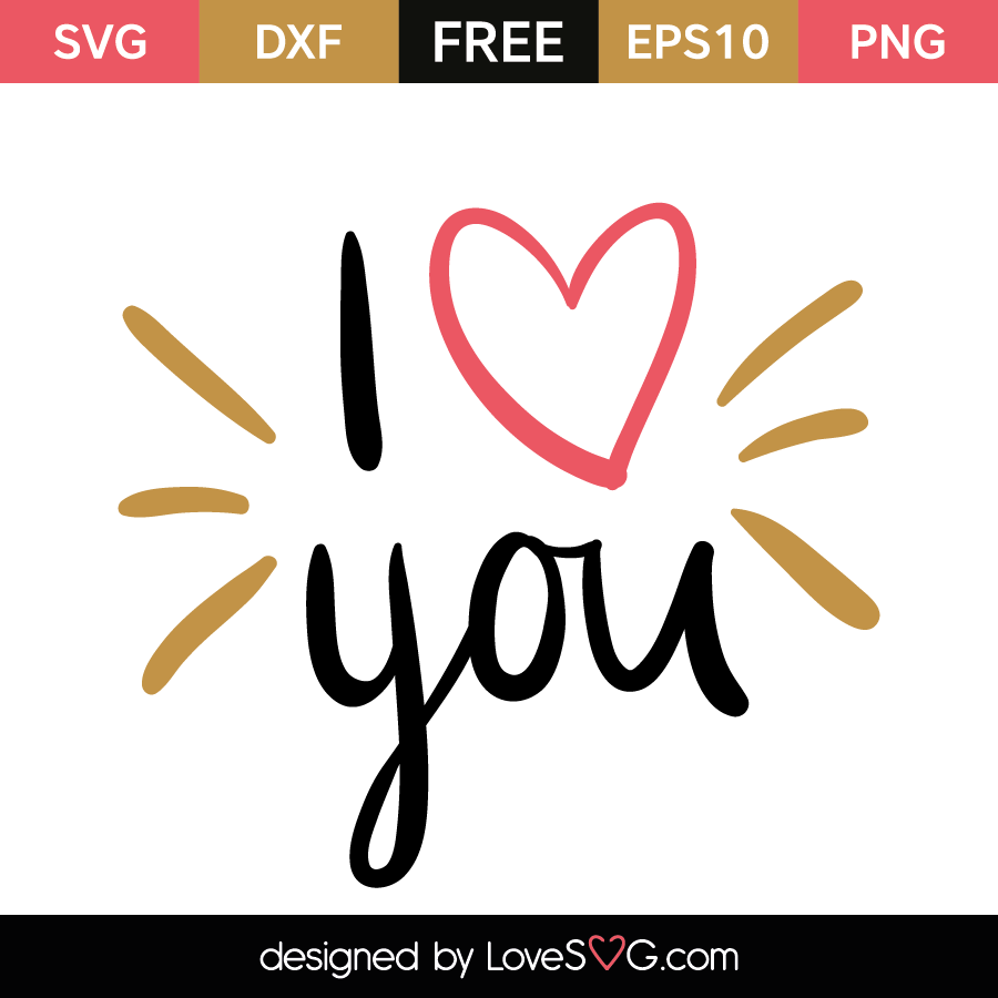 Download I love you | Lovesvg.com