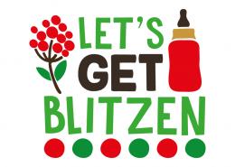 Free SVG cut file - Let's get Blitzen