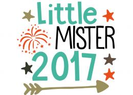 Free SVG cut file - Little Mister 2017